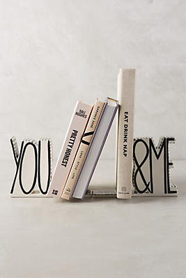 You & Me Bookends