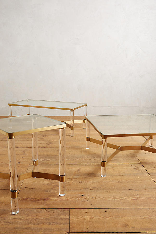 Slide View: 5: Oscarine Lucite End Table