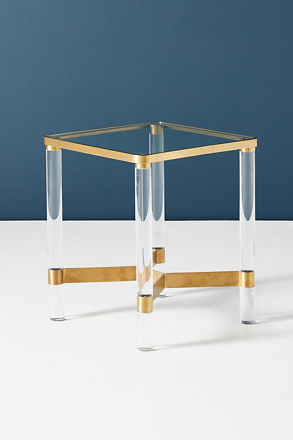 Slide View: 4: Oscarine Lucite End Table