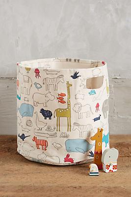Animal Parade Basket