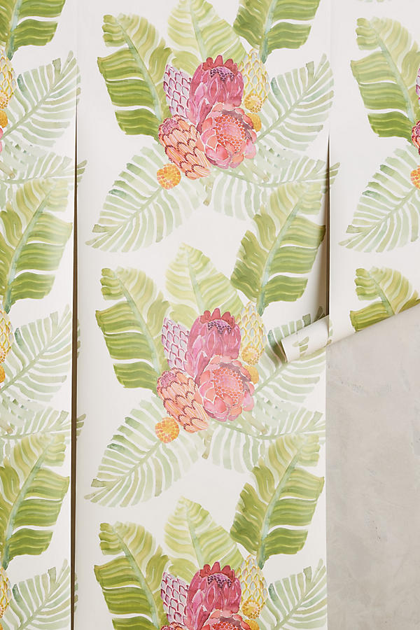 Slide View: 1: Majorcan Garden Wallpaper