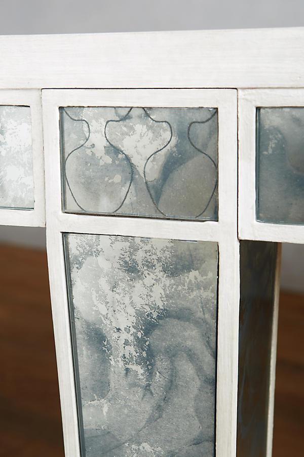fontaine verspiegelter esstisch | anthropologie, Esszimmer dekoo