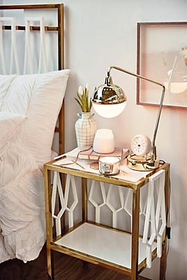 Slide View: 5: Balustrade Nightstand