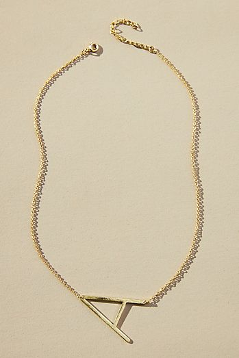 Womens necklaces anthropologie monogram pendant necklace aloadofball