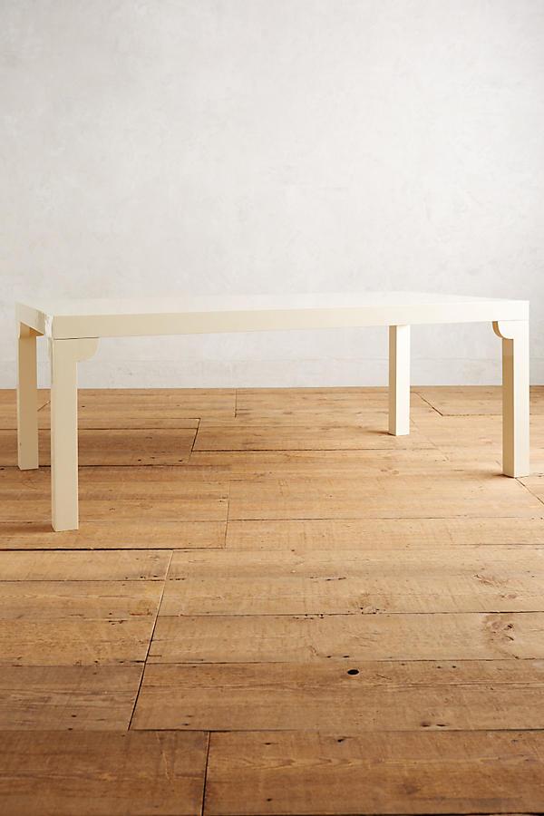 gloss grain modular dining table - Modular Dining Room