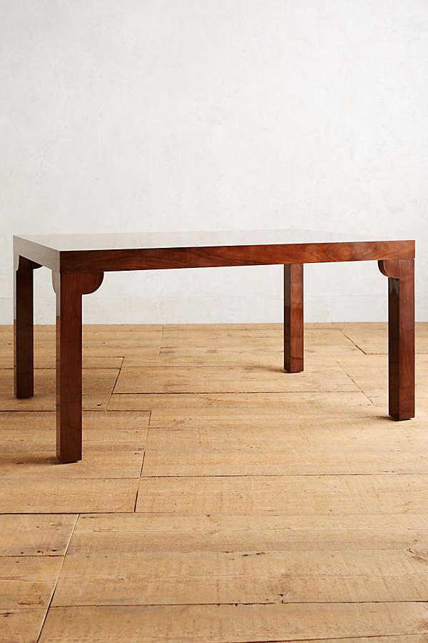 slide view 1 gloss grain modular dining table. Interior Design Ideas. Home Design Ideas