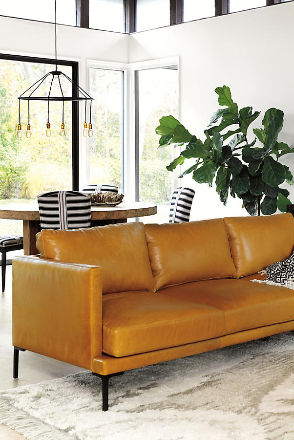 Slide View: 2: Premium Leather Linde Sofa