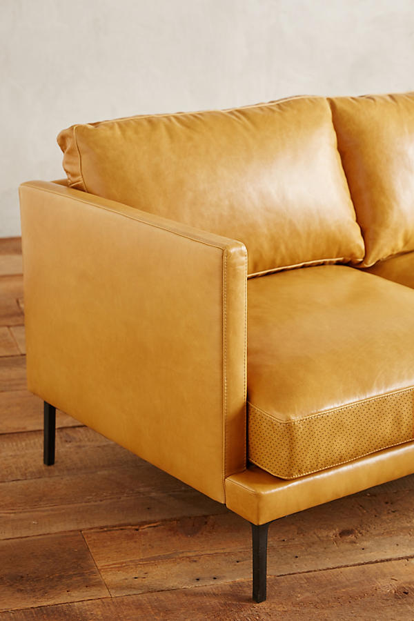 Slide View: 4: Premium Leather Linde Sofa