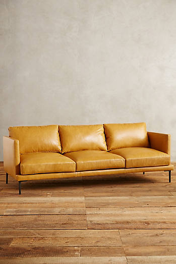 Premium Leather Linde Sofa