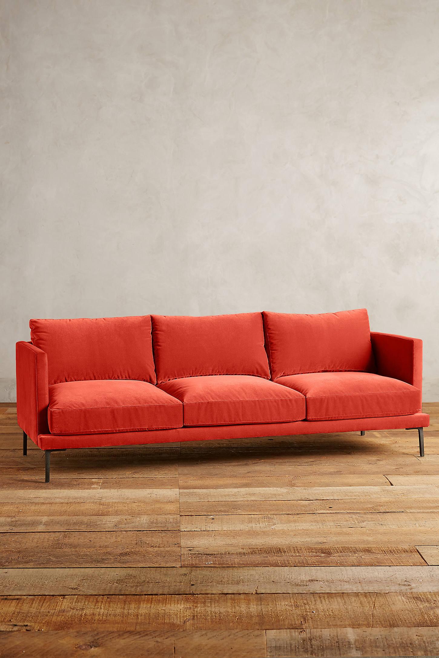 Velvet Linde Sofa