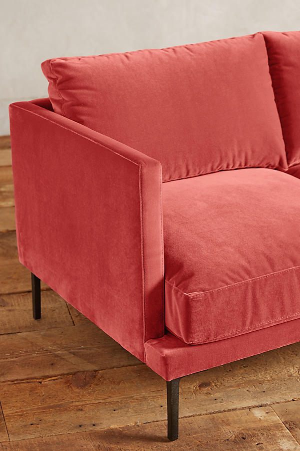 Slide View: 3: Velvet Linde Sofa