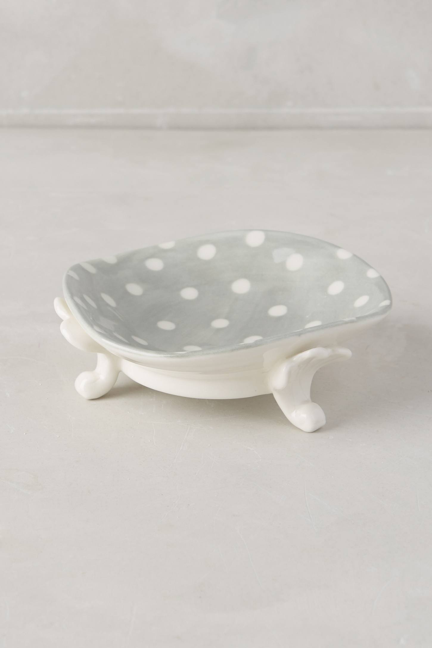 Handpainted Dots Bath Container