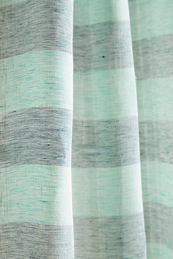 Slide View: 3: Averill Striped Curtain