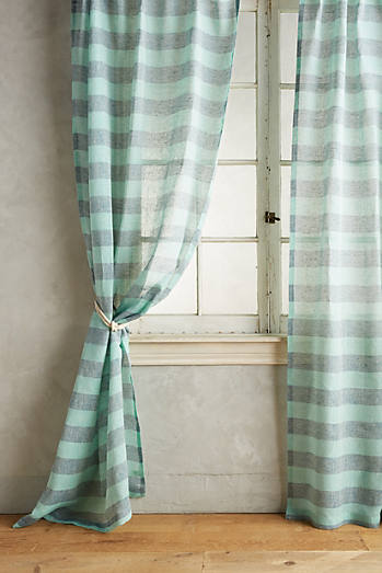 Averill Striped Curtain