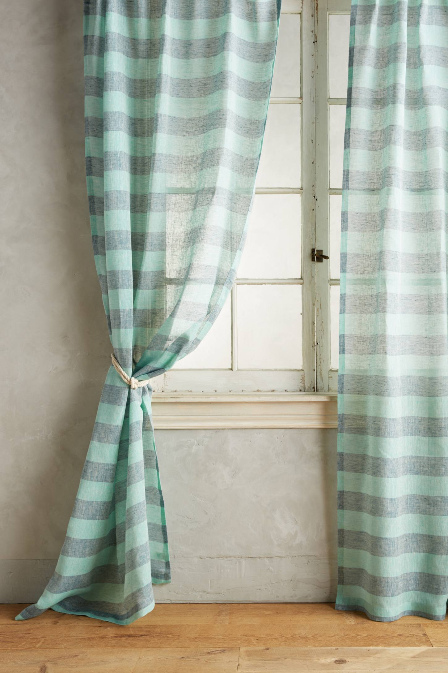 Slide View: 1: Averill Striped Curtain