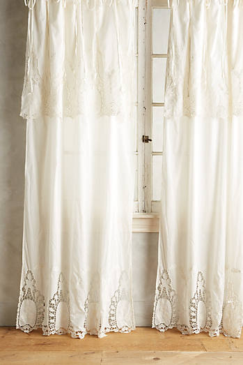Victorian Lace Curtain