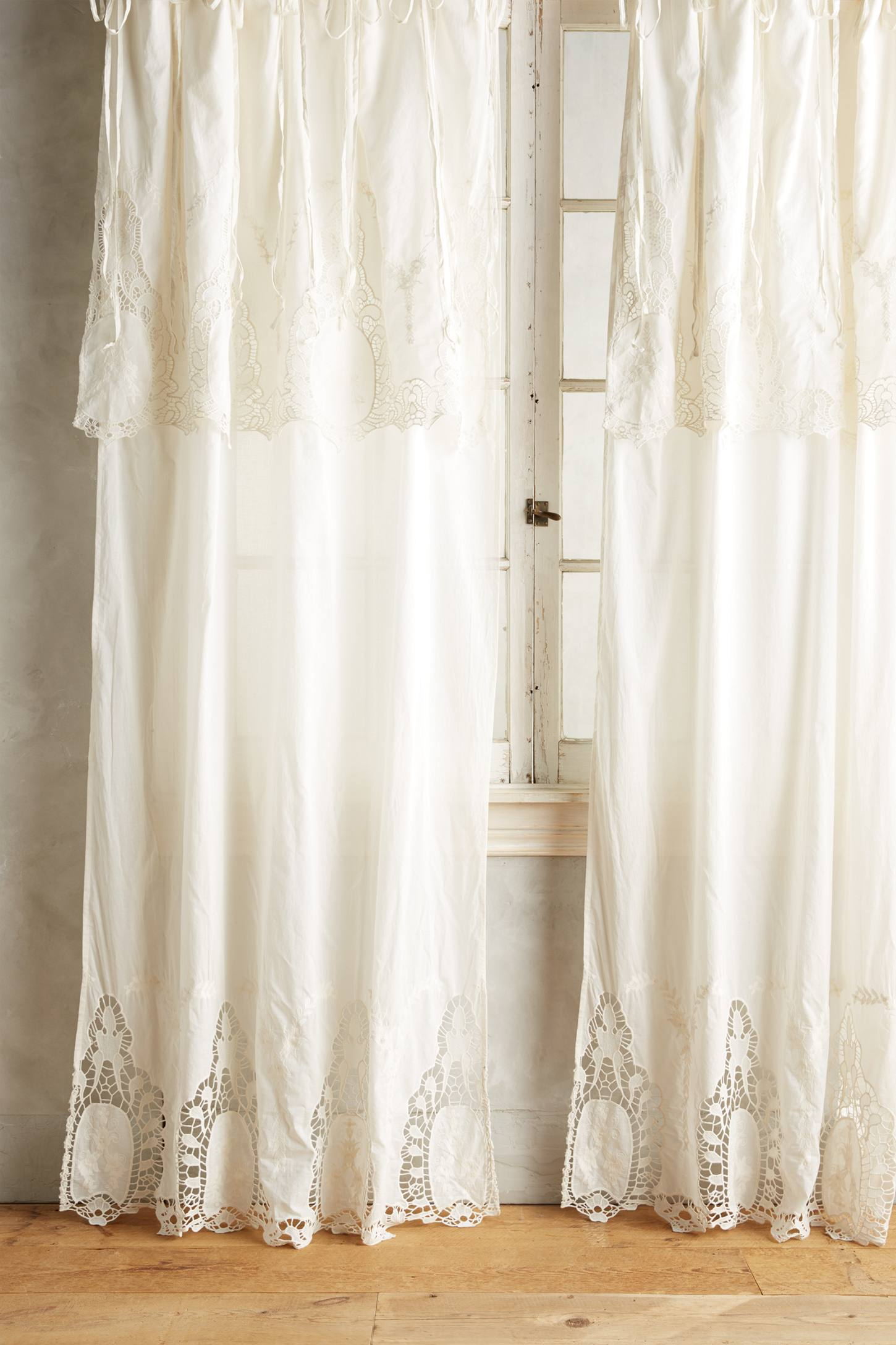 Victorian Lace Curtain Anthropologie