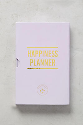 The Happiness Day Planner  Anthropologie