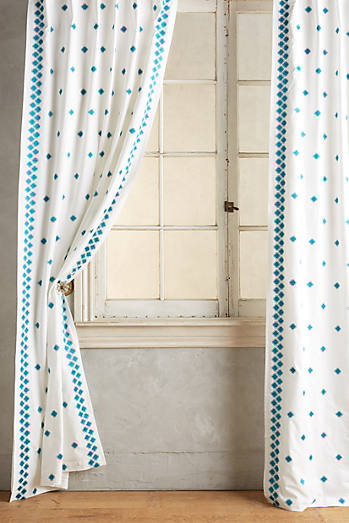 Hallina Diamonds Curtain