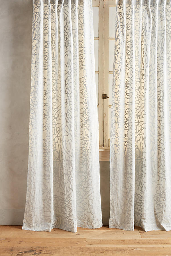 Slide View: 1: Petalwood Curtain