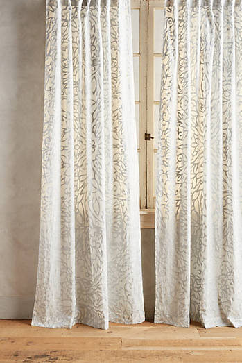 Curtains on sale anthropologie - Sylvie thiriez rideaux ...