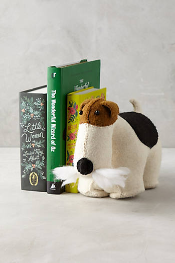 Fox Terrier Bookend