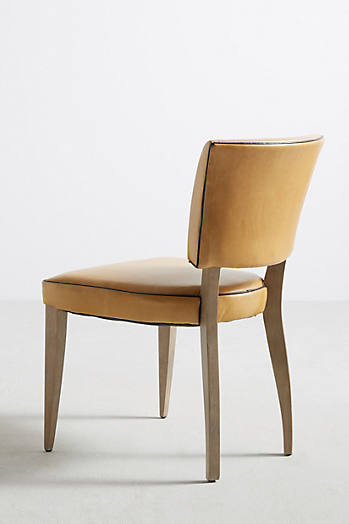 Slide View: 6: Premium Leather Promena Dining Chair