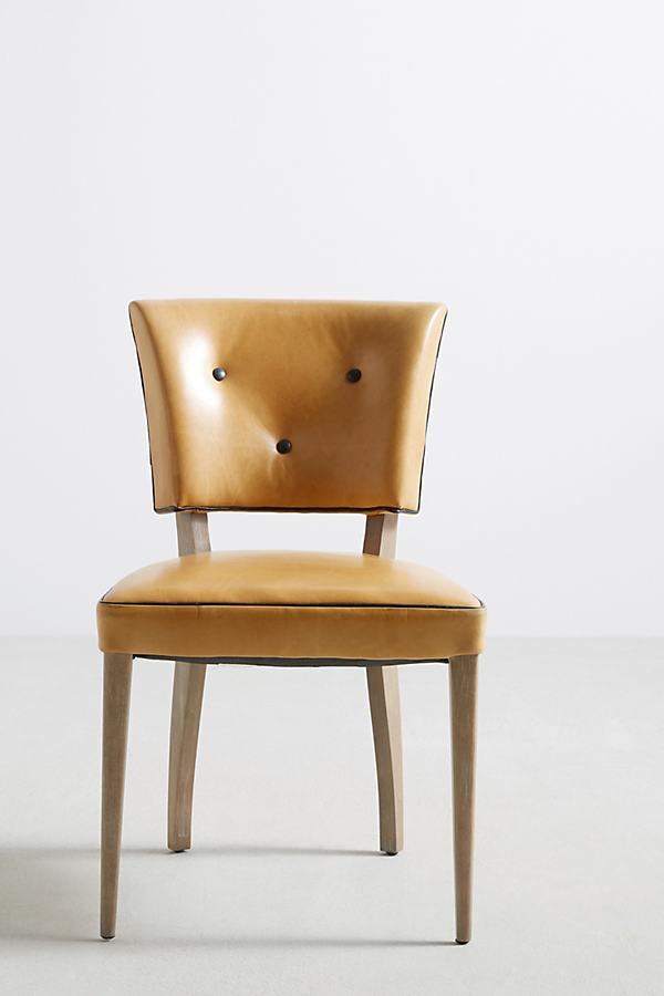 Premium Leather Promena Armchair - Gold