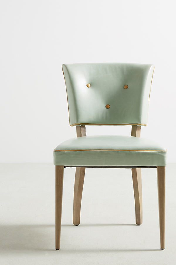 Premium Leather Promena Armchair - Mint