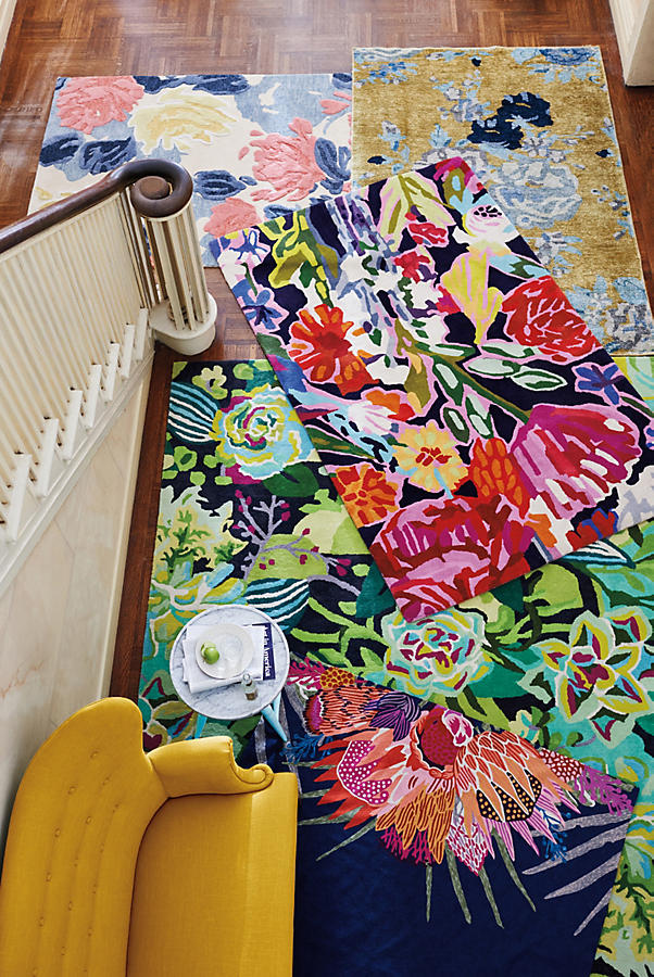 Slide View: 4: Deconstructed Bouquet Rug