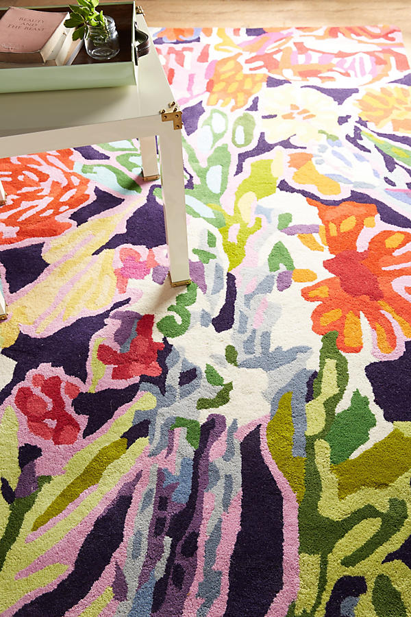 Slide View: 2: Deconstructed Bouquet Rug