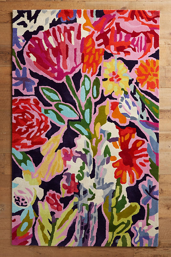 Slide View: 1: Deconstructed Bouquet Rug