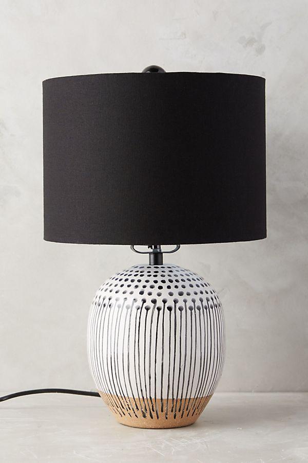 Slide View: 1: Uteki Painted Lamp Ensemble