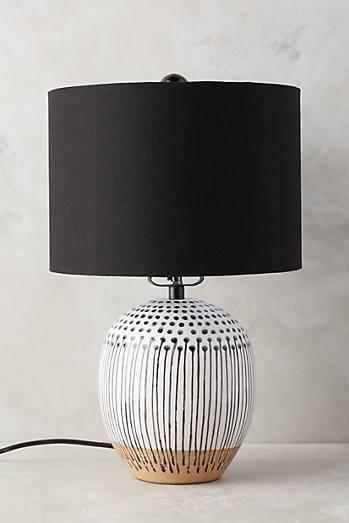 Uteki painted lamp ensemble