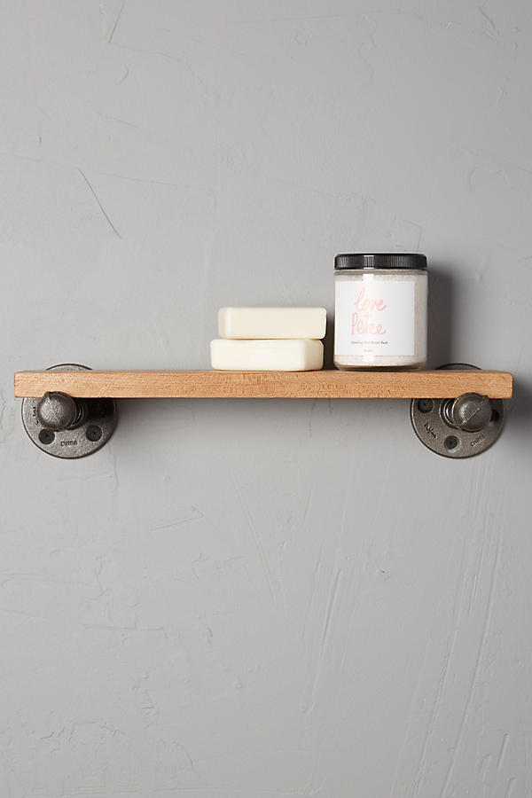 Slide View: 1: Pipework Bath Shelf