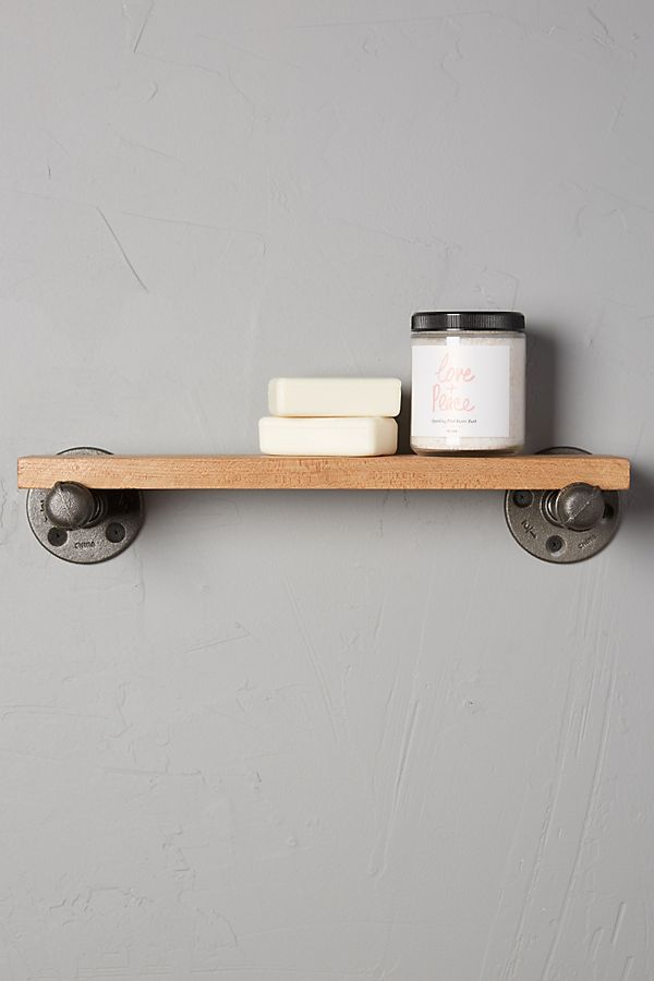 Pipework Bath Shelf | Anthropologie