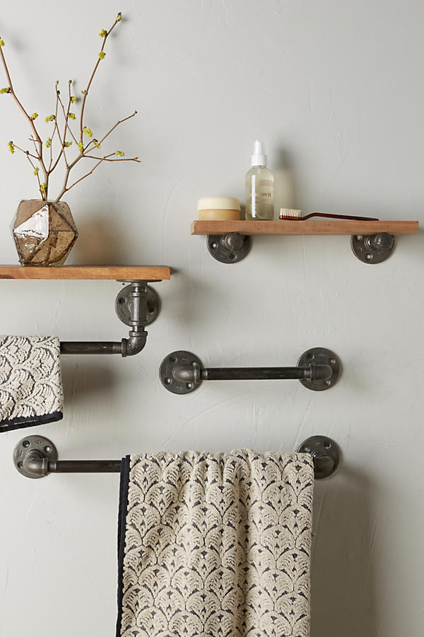Slide View: 2: Pipework Towel Rack