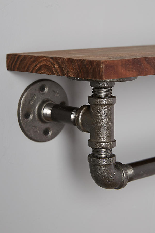 Slide View: 3: Pipework Towel Rack