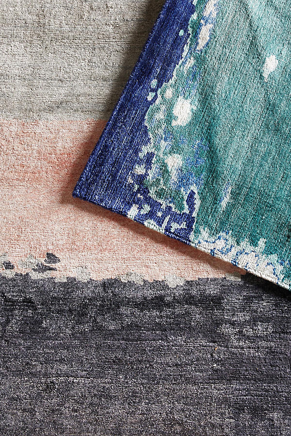 Slide View: 4: Painted Palette Rug