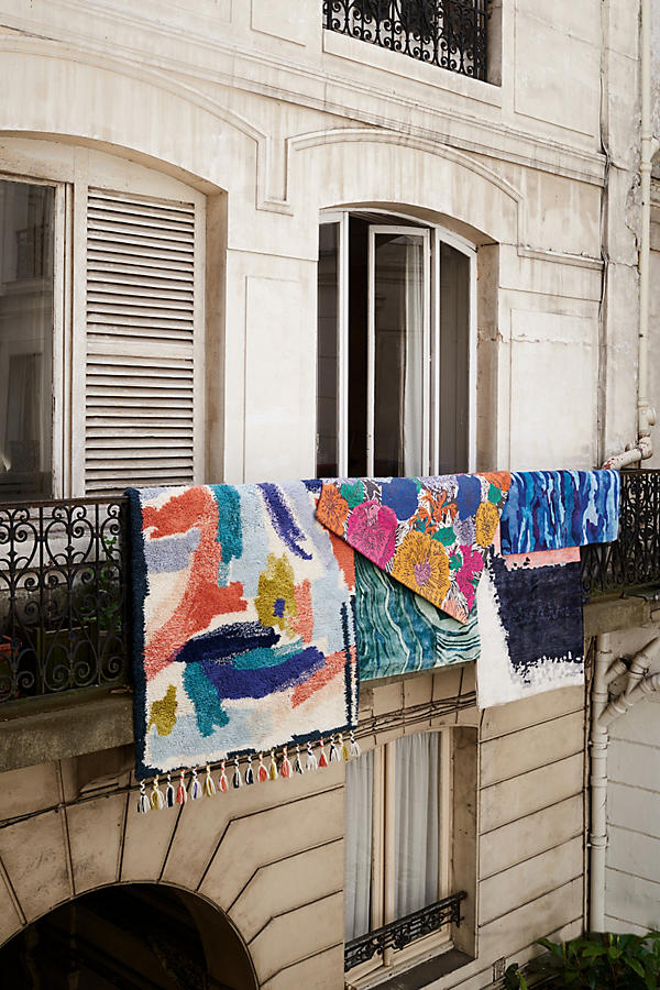 Slide View: 7: Painted Palette Rug
