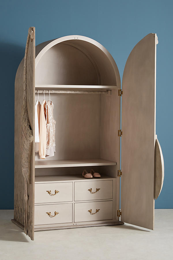 Slide View: 3: Land & Sky Armoire