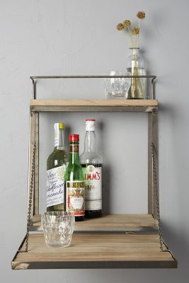 Fold Down Bar Shelf Anthropologie