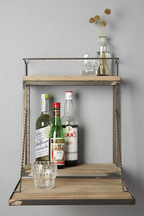 Fold Down Bar Shelf Anthropologie