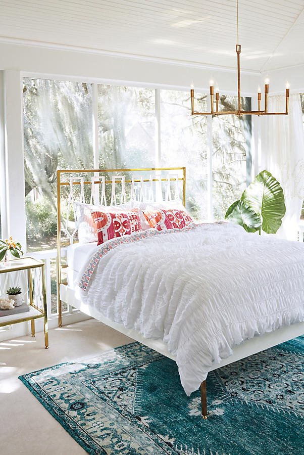 Bedroom 10x10 Size: Overdyed Naima Rug