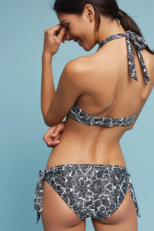 Slide View: 3: High-Neck Halter Bikini Top