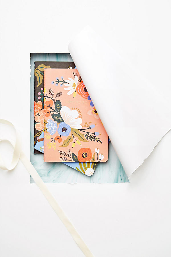 Slide View: 3: Penned Posies Journal Trio