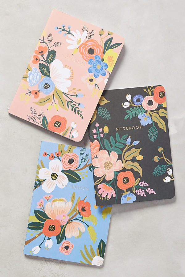 Slide View: 1: Penned Posies Journal Trio