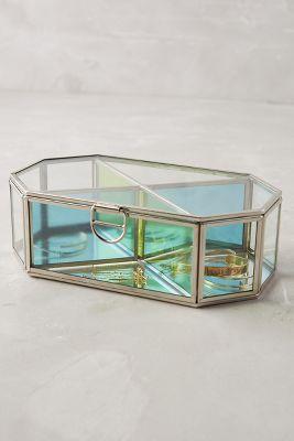 Prismatic Glass Jewelry Box Anthropologie