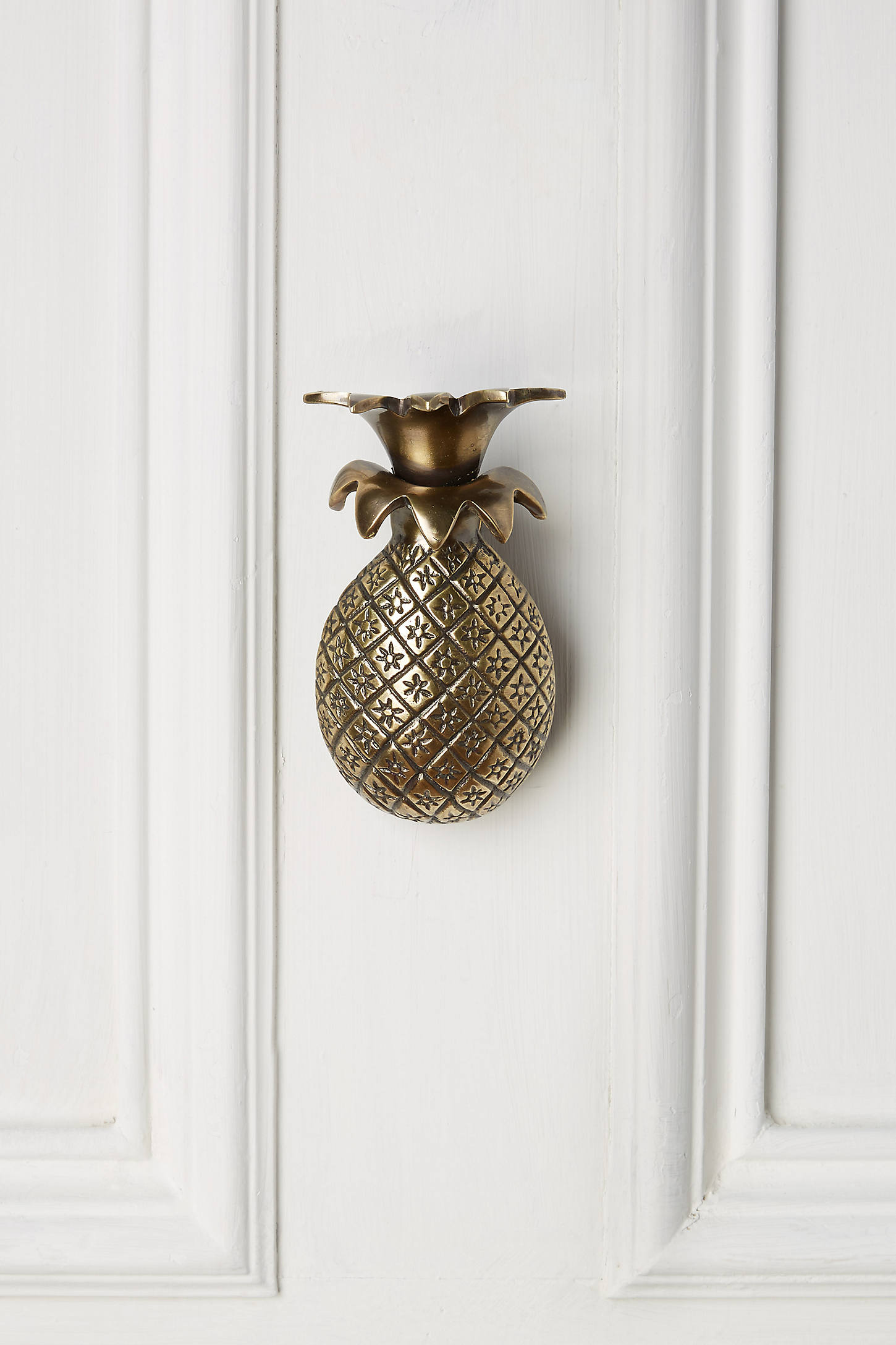 Pineapple Greetings Doorknocker