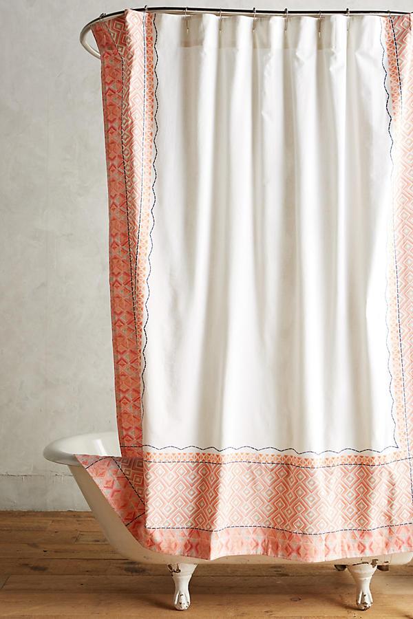 Brenna Shower Curtain Anthropologie